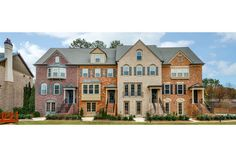 Timeless style and architectural detail accent these new townhomes built by John Wieland Homes and Neighborhoods in the Concord Hall community. Smyrna, GA.