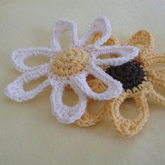 croche flower toys