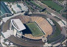 Autzen Stadium - home of the Oregon Ducks!