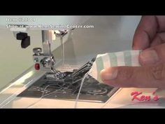 ▶ Janome binder foot - YouTube
