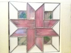 Stained glass-quilt pattern