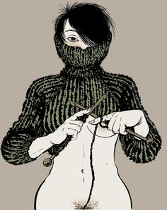 """Letters Of Desire (alphabet book project) """"X"""". by Yuko Shimizu"""