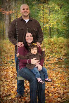 family of three photo ideas : SWING!!!