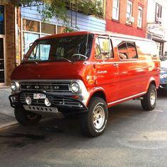 Ford 4x4 van