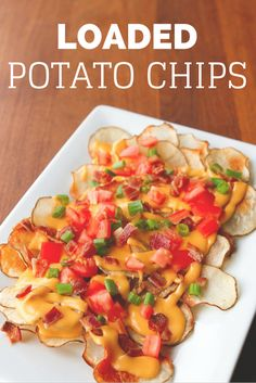 Loaded Potato Chips