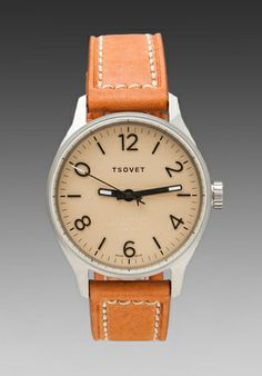 TSOVET SVT-RS40 in Champagne w/Rouille Leather
