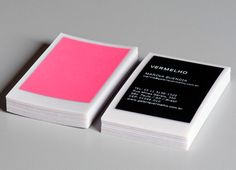 business cards- thick vellum?
