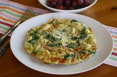 Gluten-free Friday: Artichoke-spinach frittata