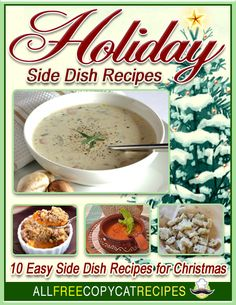 Holiday Side Dish Recipes: 10 Easy Side Dishes for Christmas