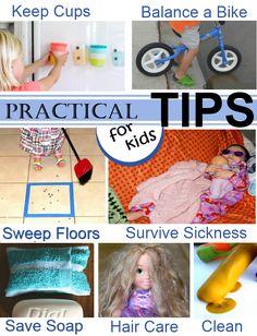 Practical Tips for Children kids practical, children ideas, kid activities, activities for kids, doll hair, craft activities, 2 kids under 2, parent, teaching kids