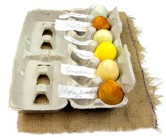 Herbal Egg Dye! Perfect for easter!