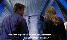 I love it when he has Firefly references on Castle :)