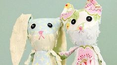 Homemade cat or bunny stuffed animal tutorial