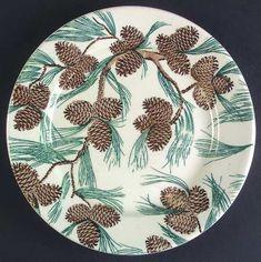 Tepco China pine cone pattern
