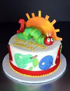 Very Hungry Caterpillar cake by Sugar Bakery