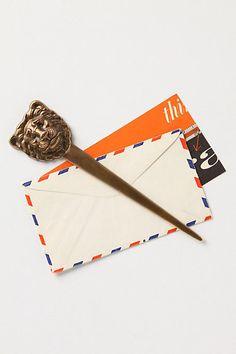 plantagenet lion letter opener