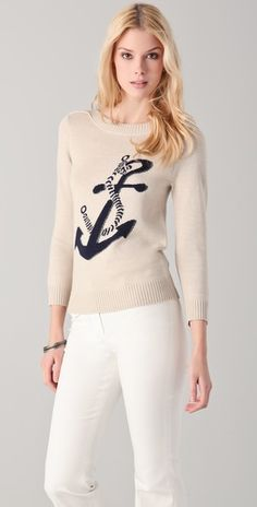 Anchor sweater <3