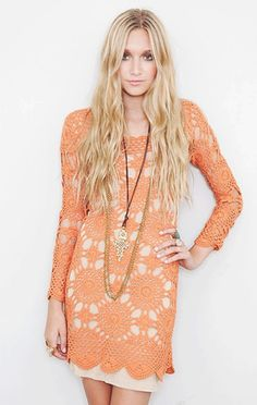 Wildflower Crochet Dresses Pattern