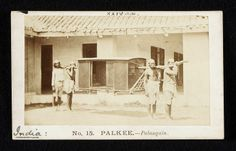 Palanquin; Palkee. Photograph. India. © Victoria and Albert Museum, London