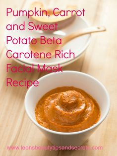 #Pumpkin, Carrot and Sweet Potato Beta Carotene Rich #Facial Mask For #Halloween!