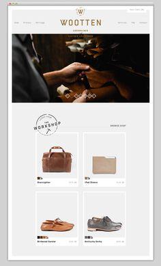 Website Home Page De