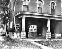 1936: State's Attorney Ivan Hutchens, asking for injunctions to close bawdy houses, announced that the establishment of a 'tea room' in the front of the house at 539 W. William St. would not get by the law in Decatur. (H File Photo)