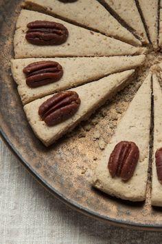 Pecan-Maple Shortbread (gluten free)