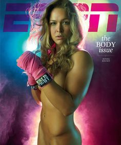 Photo of Ronda Rousey by Peggy Sirota for ESPN The Magazine.