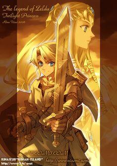 Twilght Princess, Link and Zelda