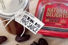 Homemade BBQ Sauce using Medjool Dates as a natural sweetener!