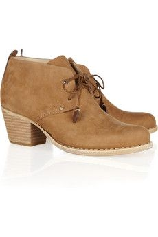 leighton nubuck leather ankle boots ++ rag
