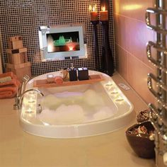 this bathroom would work too lol