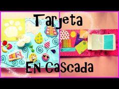 ▶ Tarjeta En Cascada//Waterfall Card Detalles Para Novio - YouTube