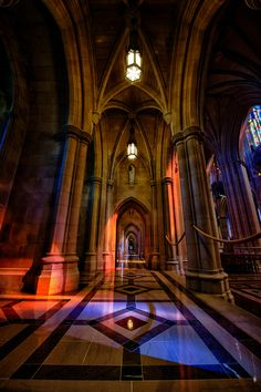 Washington Cathedral Aisle