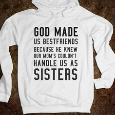 I can think of a few best friends like this. @Lacy Beckstrom Beckstrom Schneider