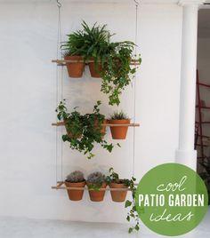 Patio gardening ideas from Babble.com