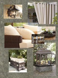 Love these outdoor ideas