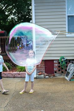 ginormous bubbles!