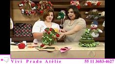 Arvore de Natal com Vivi Prado (PARTE 2 de 2) - Programa Sabor de Vida !!!