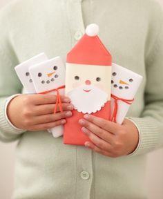 Christmas candy bar wraps