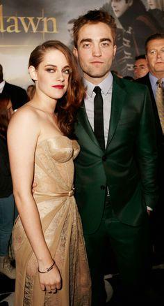 Rob Pattinson and Kristen Stewart at LA Breaking Dawn 2 Premiere - November 2012