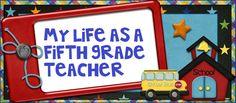 grade teacher, teacher stuff, awesom classroom, teacher blogs, 5th grade blogs