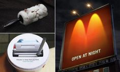 40 Brilliant and Creative Advertisement Photographs for your inspiration.