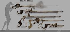 Thark weapons, JOHN CARTER