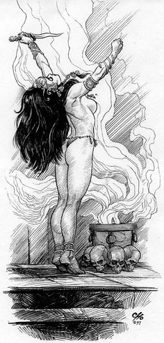 Dejah Thoris by Frank Cho