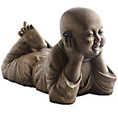 Day Dreaming Golden Monk