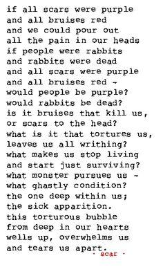 poem, poetry, pain, scars, scar, scarification, body art, body mod, body modification, badass, hardcore