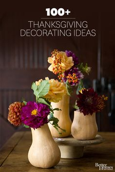Click through for some of our favorite and fabulous fall decor: http://www.bhg.com/decorating/seasonal/fall/natural-fabulous-fall-decor/?socsrc=bhgpin102714luxepumpkins&page=2