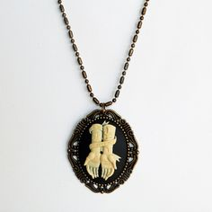 Fab.com | Miss Atomic Cameo Necklace