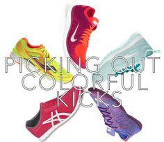 Picking Out Colorful Workout Kicks
